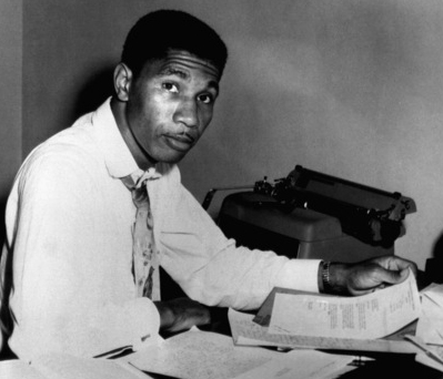 Medgar Evers in Jackson, Mississippi in 1963, crmvet.org
