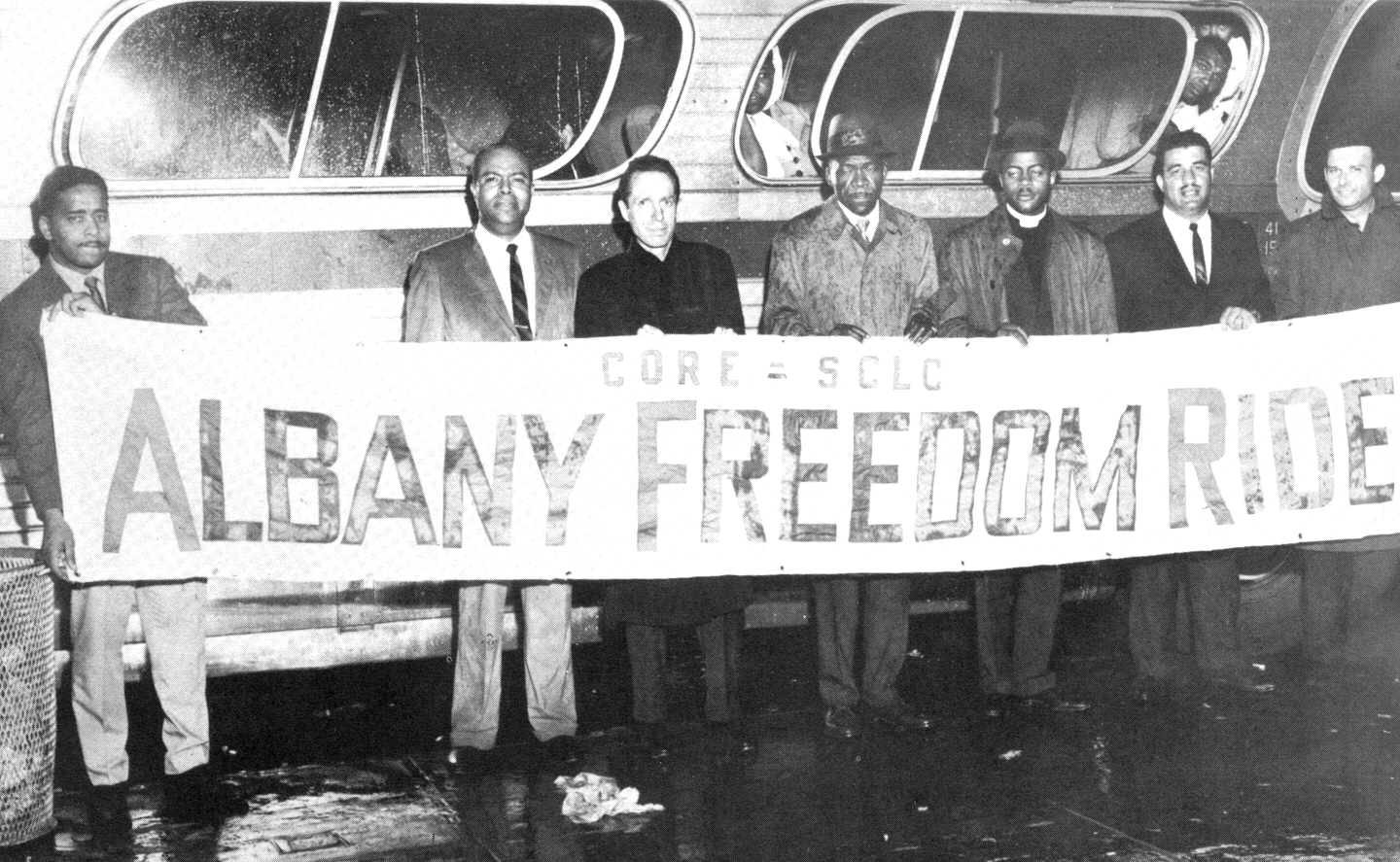 Image result for freedom riders in 1961