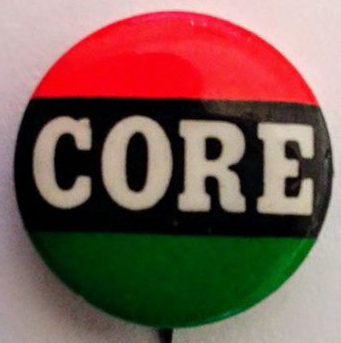 [CORE pin in African colors]