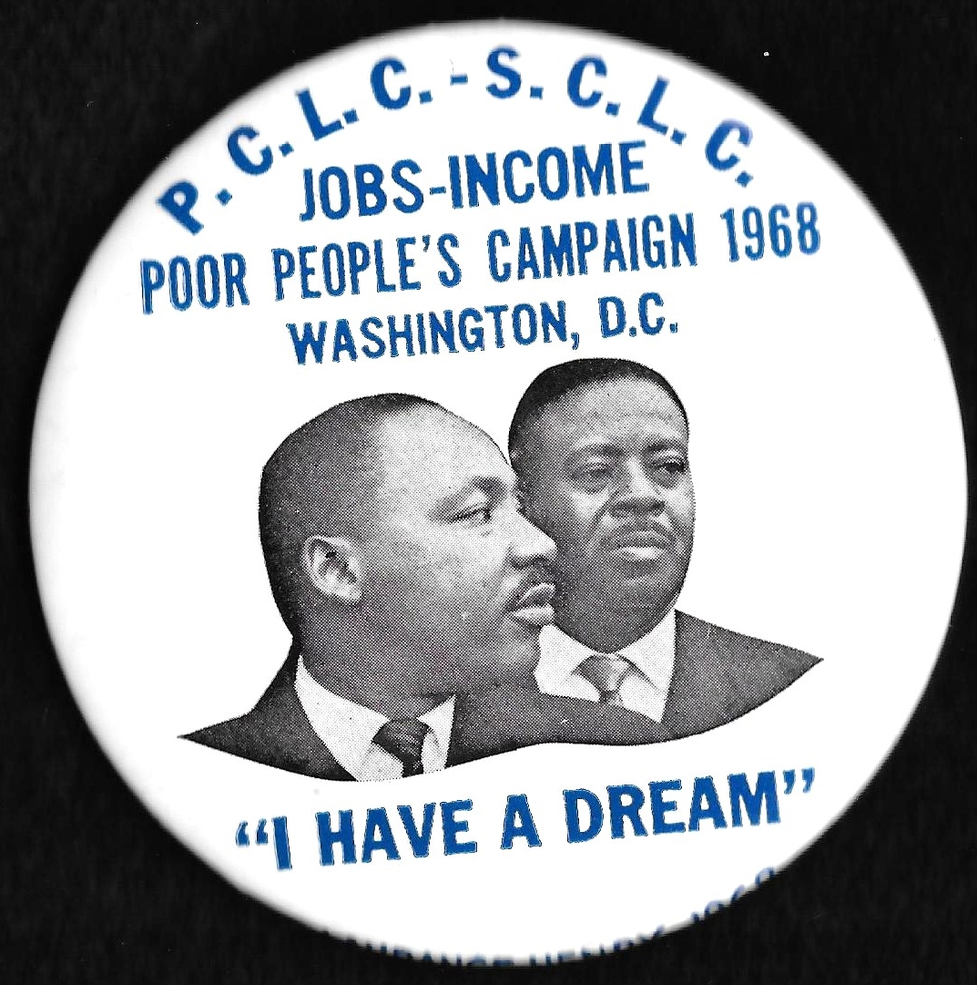 [Poor Peoples Campaign pin]
